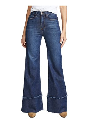 AO.LA by alice + olivia ao. la by alice + olivia gorgeous high rise trouser jeans with exaggerated hem