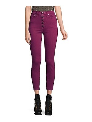 AO.LA by alice + olivia good for one high-rise skinny jeans