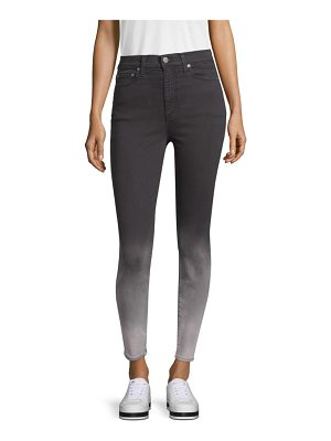 AO.LA by alice + olivia good high-rise ankle skinny jeans