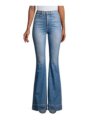 AO.LA by alice + olivia beautiful high-rise flared jeans