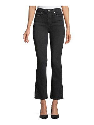 AO.LA by Alice+Olivia Fabulous High-Rise Baby Boot-Cut Jeans