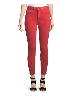 AO.LA by Alice+Olivia Good High-Rise Ankle-Length Skinny Jeans