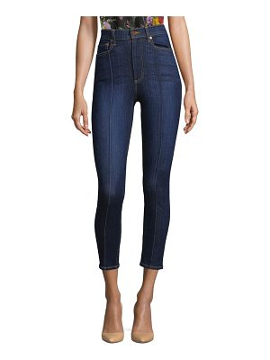 AO.LA by alice + olivia good dream high-rise skinny pintuck jeans