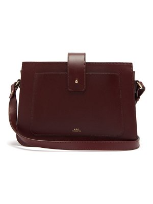 A.P.C. albane smooth-leather cross-body bag