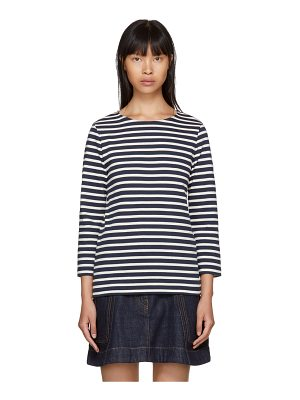A.P.C. and Off-white Long Sleeve Nikki Sailor T-shirt