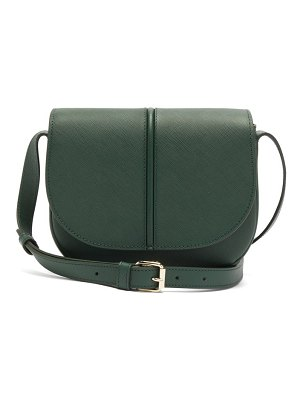 A.P.C. betty grained-leather shoulder bag
