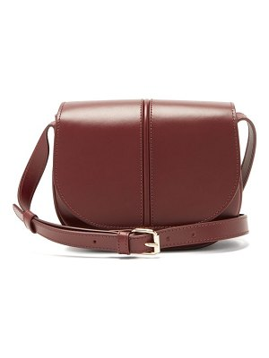 A.P.C. betty smooth leather cross-body bag
