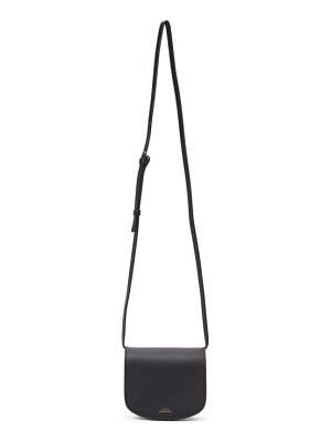 A.P.C. black mini dina bag