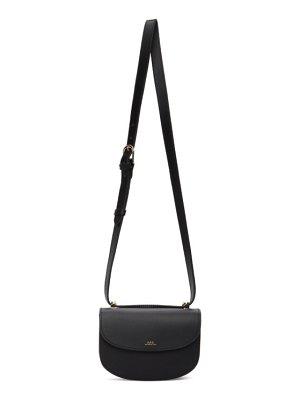 A.P.C. black mini geneve bag