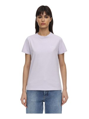 A.P.C. Denise cotton jersey t-shirt