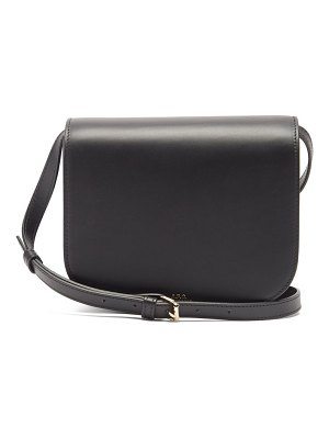 A.P.C. dina leather cross-body bag