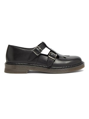 A.P.C. double-strap mary jane flats