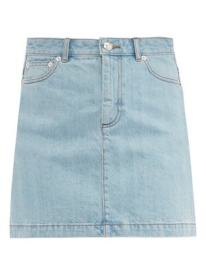 A.P.C. fanny denim mini skirt