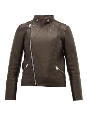 A.P.C. florence leather biker jacket