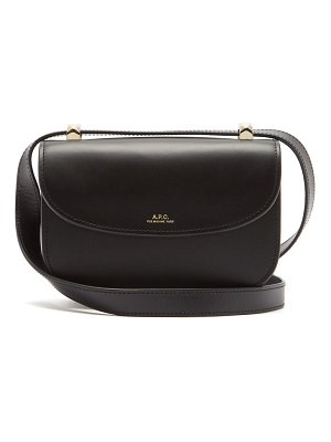 A.P.C. genève mini smooth-leather cross-body bag