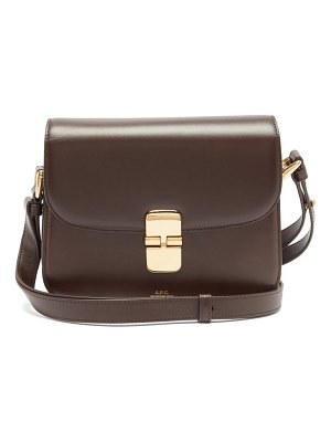 A.P.C. grace leather cross-body bag