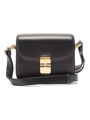 A.P.C. grace mini leather cross-body bag