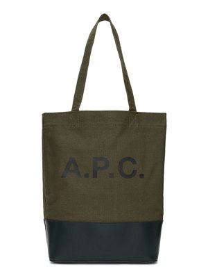 A.P.C. green axelle tote