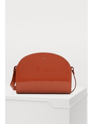 A.P.C. Half-moon leather bag