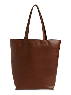 A.P.C. Kaba smaiko leather tote bag