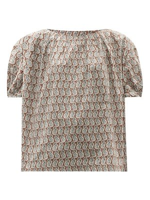 A.P.C. lisa paisley-print cotton blouse