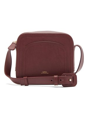 A.P.C. louisette smooth-leather cross-body bag