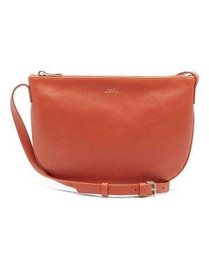 A.P.C. maelys leather cross-body bag