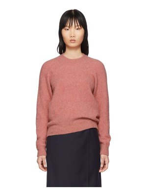 A.P.C. pink wendy sweater