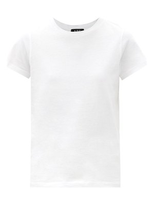 A.P.C. poppy cotton-jersey t-shirt