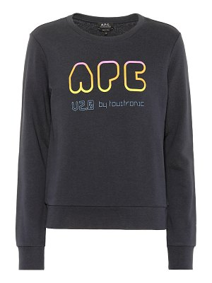 A.P.C. v2.0 printed cotton sweatshirt