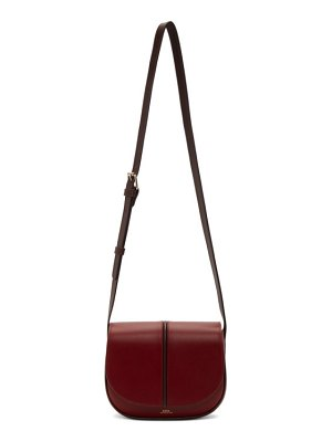 A.P.C. red betty bag