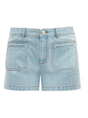 A.P.C. roma mid-rise denim shorts