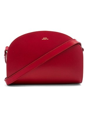 A.P.C. sac demi lune crossbody