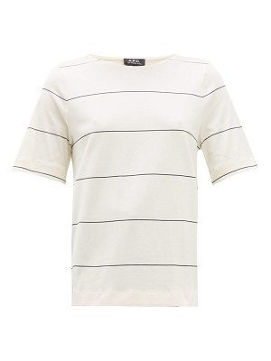 A.P.C. sara striped cotton t-shirt