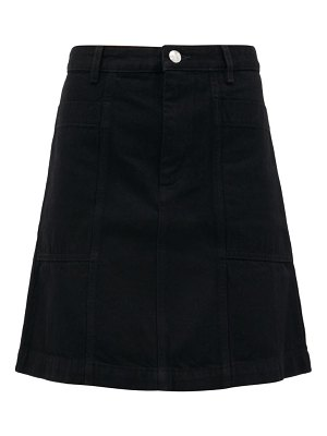 A.P.C. stella a-line denim mini skirt