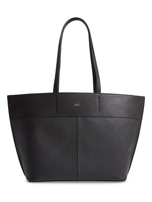A.P.C. totally leather tote bag