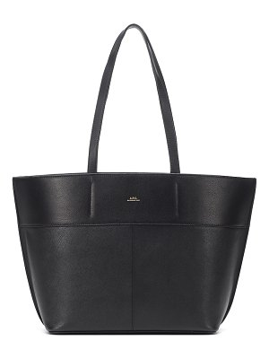A.P.C. totally leather tote