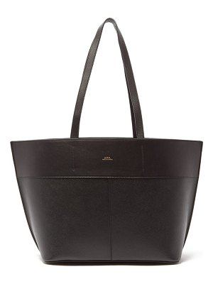 A.P.C. totally small leather tote bag