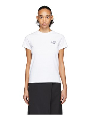 A.P.C. white denise t-shirt