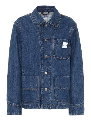 A.P.C. x carhartt denim jacket
