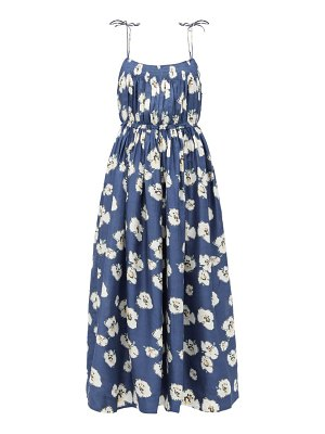 APIECE APART cecile floral-print silk dress