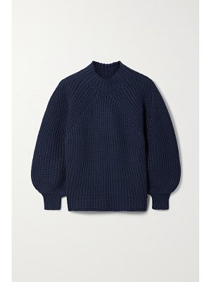 APIECE APART nueva merel ribbed cotton and cashmere-blend sweater