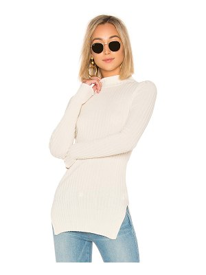 APIECE APART Second Skin Rib Mockneck Top