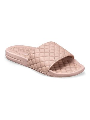APL: Athletic Propulsion Labs lusso quilted slide sandal