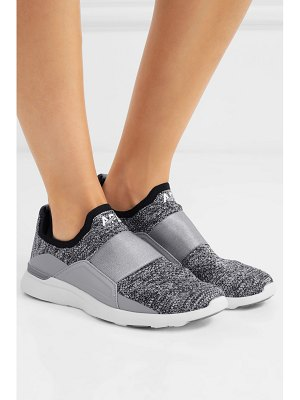 APL: Athletic Propulsion Labs techloom bliss mesh and satin slip-on sneakers