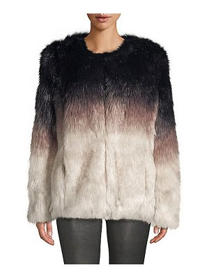 Apparis lola faux fur coat
