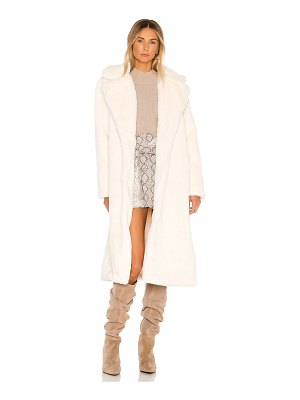 Apparis mona faux fur coat