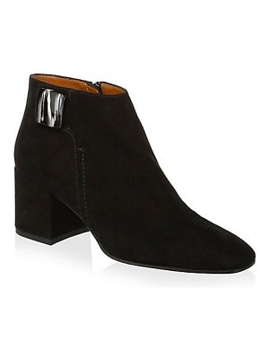Aquatalia cameo waterproof suede ankle boots