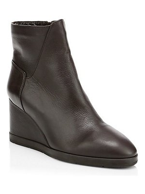 Aquatalia judy suede wedge ankle boots