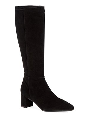 Aquatalia Karly Suede Knee Boots